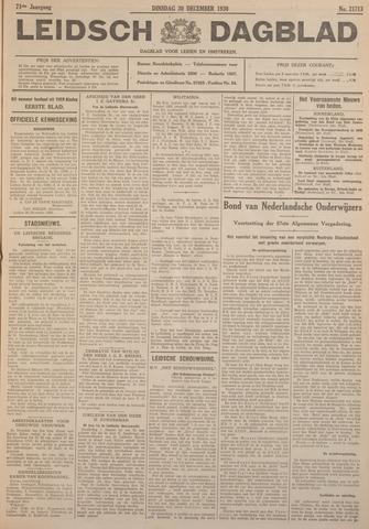 Leidsch Dagblad 1930-12-30
