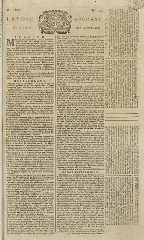 Leydse Courant 1817-11-28