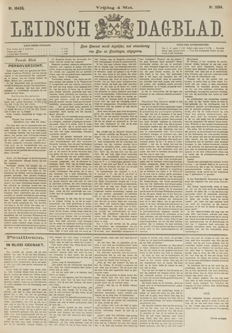 Leidsch Dagblad 1894-05-04