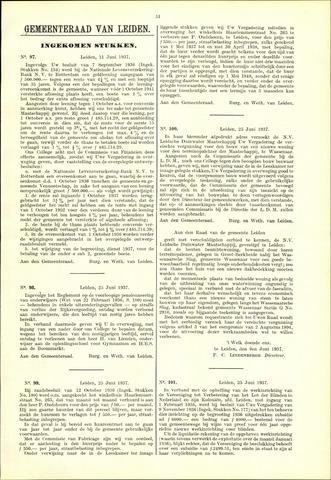 Handelingen van de Raad 1937-06-11