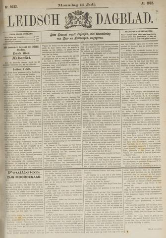 Leidsch Dagblad 1892-07-11