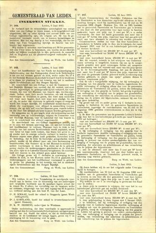 Handelingen van de Raad 1913-06-06