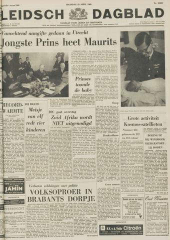 Leidsch Dagblad 1968-04-22
