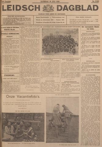 Leidsch Dagblad 1930-07-26