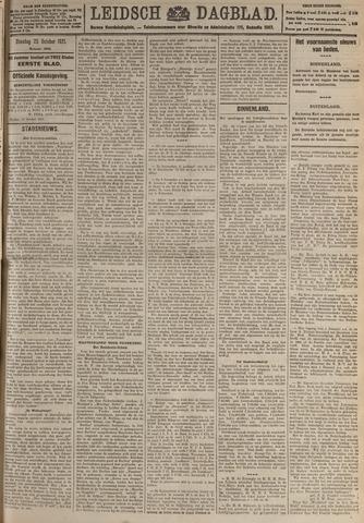 Leidsch Dagblad 1921-10-25