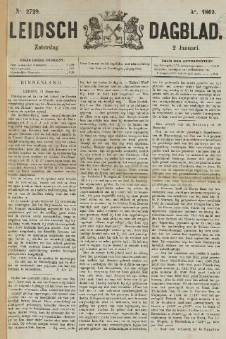 Leidsch Dagblad 1869