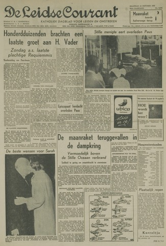 Leidse Courant 1958-10-13