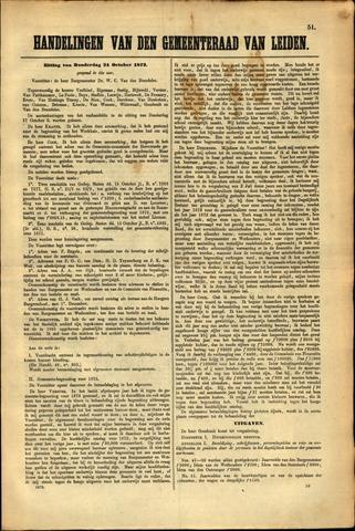 Handelingen van de Raad 1872-10-24