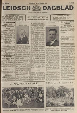Leidsch Dagblad 1933-09-18