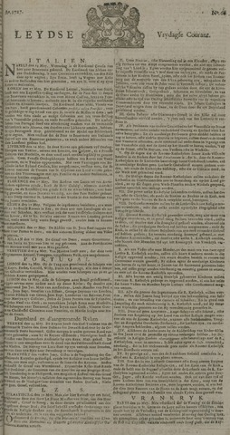 Leydse Courant 1727-06-06