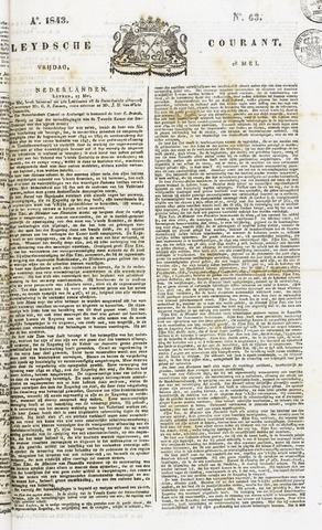 Leydse Courant 1843-05-26
