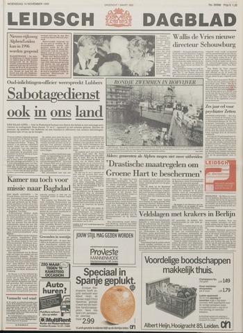 Leidsch Dagblad 1990-11-14