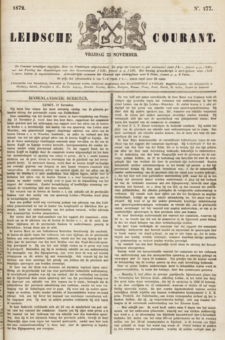 Leydse Courant 1872-11-22