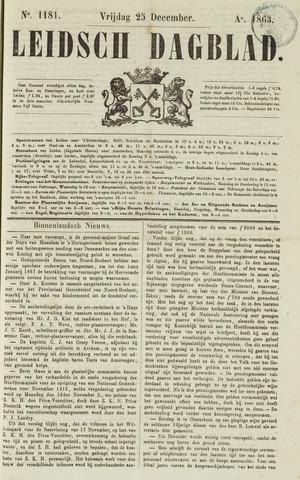 Leidsch Dagblad 1863-12-25