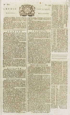 Leydse Courant 1817-08-27