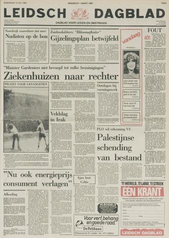 Leidsch Dagblad 1982-07-14