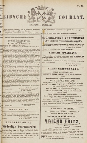 Leydse Courant 1884-02-11