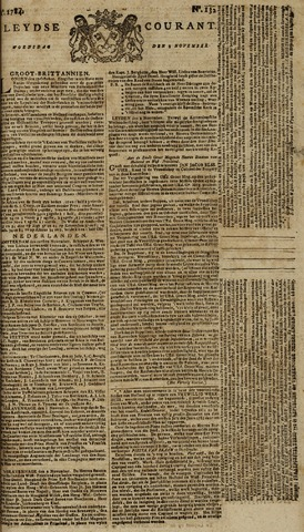 Leydse Courant 1784-11-03