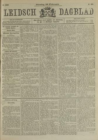 Leidsch Dagblad 1911-02-28