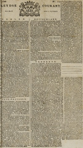 Leydse Courant 1794-10-03