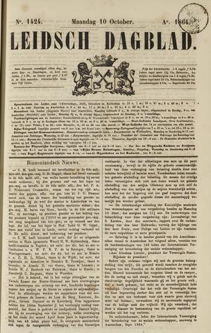 Leidsch Dagblad 1864-10-10