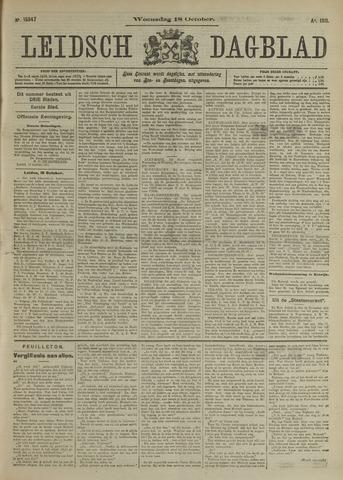 Leidsch Dagblad 1911-10-18