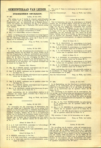 Handelingen van de Raad 1911-07-18