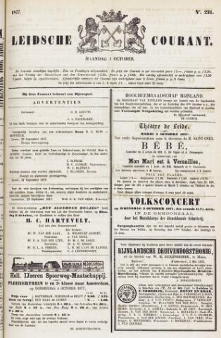 Leydse Courant 1877-10-01