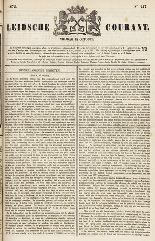 Leydse Courant 1872-10-18