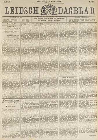 Leidsch Dagblad 1894-02-19