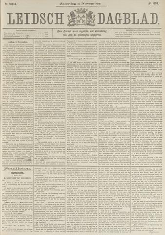 Leidsch Dagblad 1893-11-04
