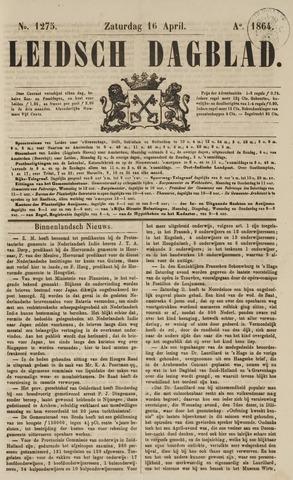 Leidsch Dagblad 1864-04-16