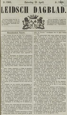Leidsch Dagblad 1866-04-28