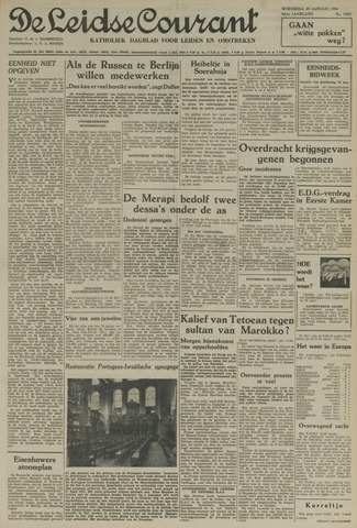 Leidse Courant 1954-01-20