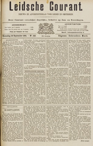 Leydse Courant 1885-09-30