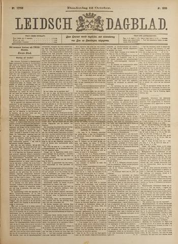 Leidsch Dagblad 1899-10-12