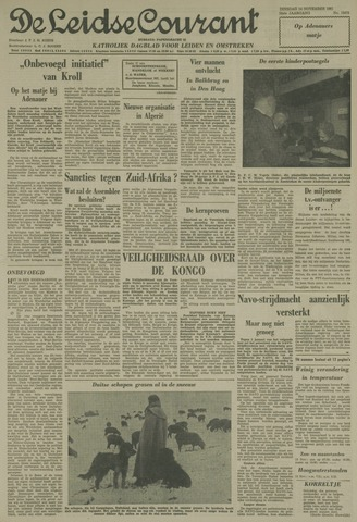 Leidse Courant 1961-11-14