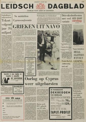 Leidsch Dagblad 1974-08-14