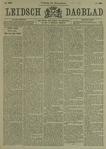 Leidsch Dagblad 1909-11-12