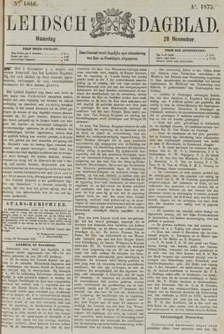 Leidsch Dagblad 1875-11-29