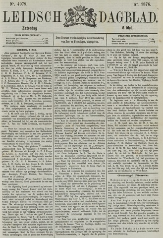 Leidsch Dagblad 1876-05-06