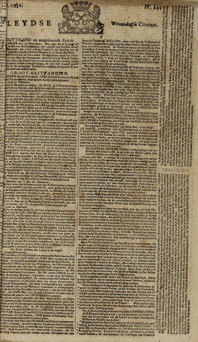 Leydse Courant 1751-12-01