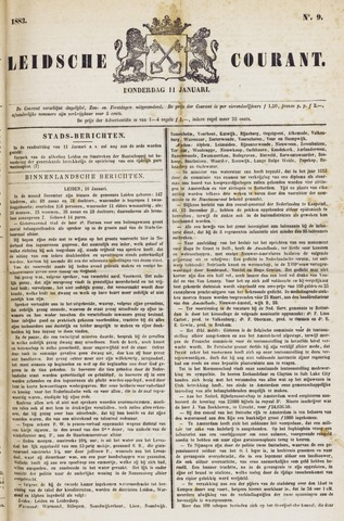 Leydse Courant 1883-01-11