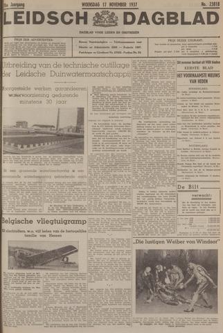 Leidsch Dagblad 1937-11-17