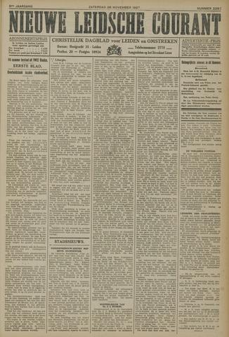 Nieuwe Leidsche Courant 1927-11-26