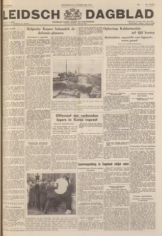Leidsch Dagblad 1951-02-22