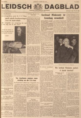 Leidsch Dagblad 1949-02-08