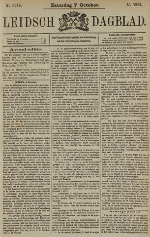 Leidsch Dagblad 1882-10-07