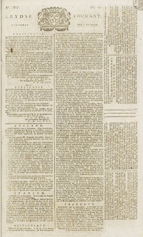 Leydse Courant 1817-10-08