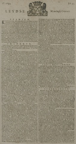 Leydse Courant 1734-08-02